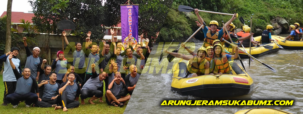 Outbound Rafting Cakrawala Adventure Arung Jeram Citatih